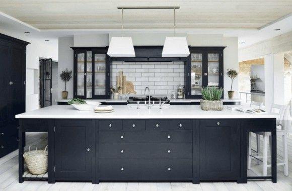 moderne-kuche-schwarz-moderne-kuchen-bilder