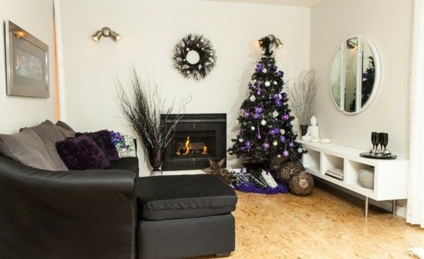 der christbaum ein richtiger hingucker in jedem zuhause zu weihnachten. Black Bedroom Furniture Sets. Home Design Ideas