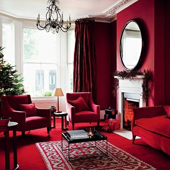 Klassische und moderne dekorationsideen zu weihnachten unter einen hut bringen - Dekorationsideen wohnzimmer ...