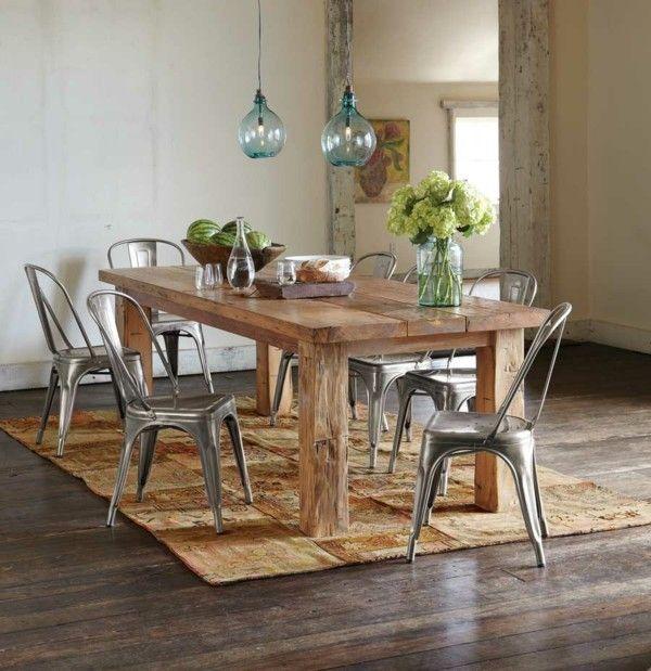 Traditionelle esszimmertisch die gut zu ihrer modernen for Esszimmertisch mit marmorplatte