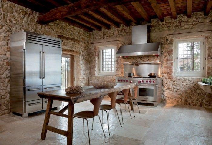 rustikale-kuche-einrichtungsideen