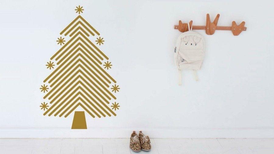 schablone-flur-weihnachtsbaum