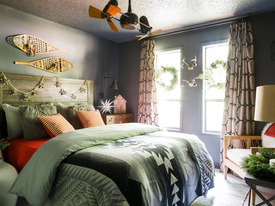 bringen sie ein winterliches flair direkt in ihr schlafzimmer. Black Bedroom Furniture Sets. Home Design Ideas