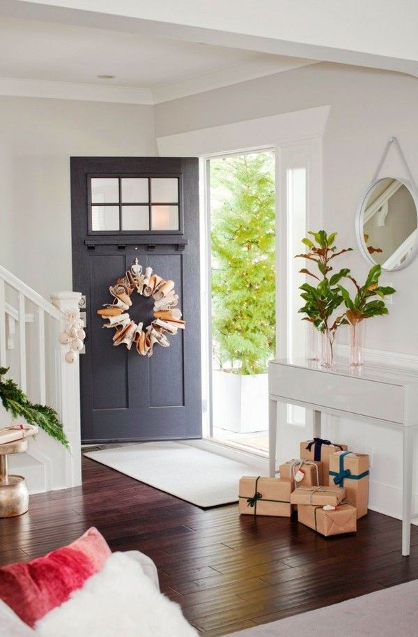Sch ne ideen f r das fest der feste tradition trifft moderne in der weihnachtsdekoration - Deko fur weihnachtstisch ...
