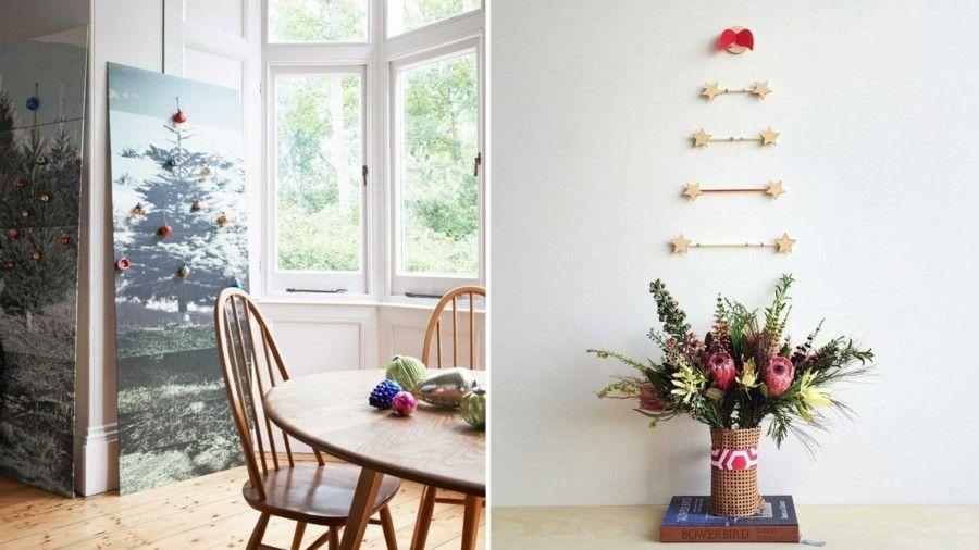 wanddekoration-weihnachtsbaum-sterne-weihnachtskugeln