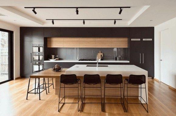 warme-akzente-mit-holz-moderne-kuchen-bilder