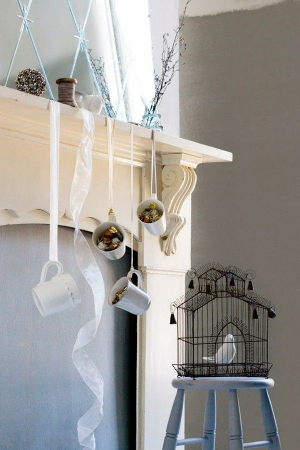 elegante weihnachtsdekoration die sie selber basteln. Black Bedroom Furniture Sets. Home Design Ideas