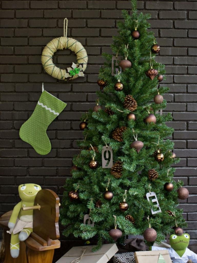 weihnachtsdeko-kinderzimmer-ideen