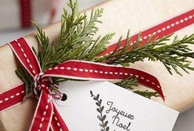 Die Weihnachtsgeschenke.Packen Sie Die Weihnachtsgeschenke Mit Liebe Und Fantasie Ein