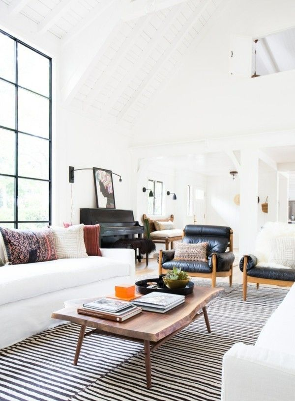 wohnzimmer-deko-ideen-schwarze-mobel