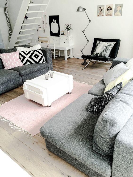 wohnzimmer-rosa-grau-weis