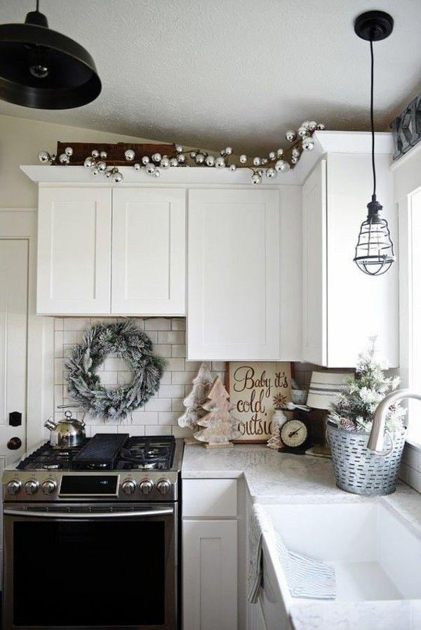 Ziemlich Weiße Küchenschränke Dekoration Zeitgenössisch ...