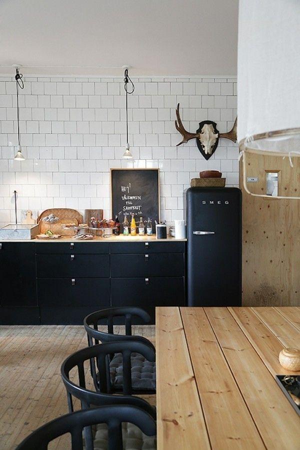20 zimmereinrichtungen beweisen schwarze m bel sind for Moderne wohnzimmereinrichtung 2016