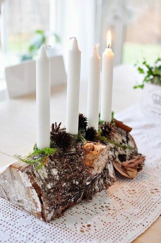 adventskranz-kerzen-holzstuck-moos-grun