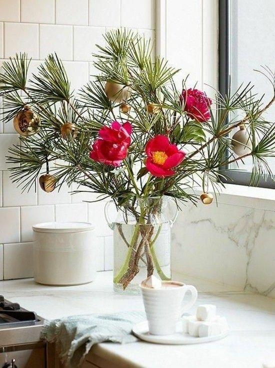 tolle ideen wie man die kleine wohnung zu weihnachten verzieren kann. Black Bedroom Furniture Sets. Home Design Ideas