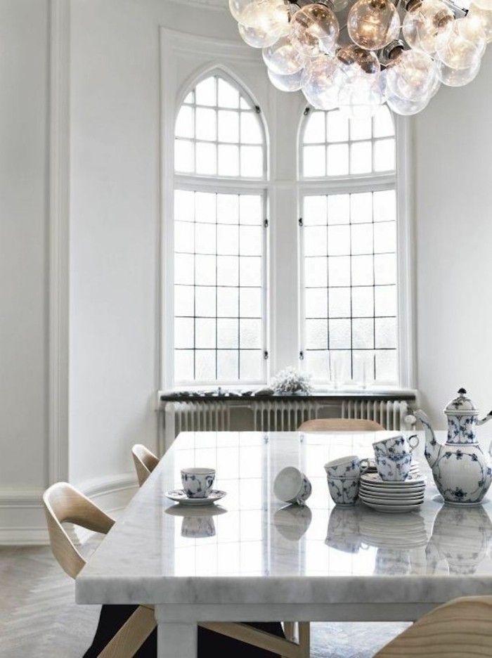 Schön Minimalistische Einrichtungsideen Für Weißes Esszimmer Design, Esszimmer