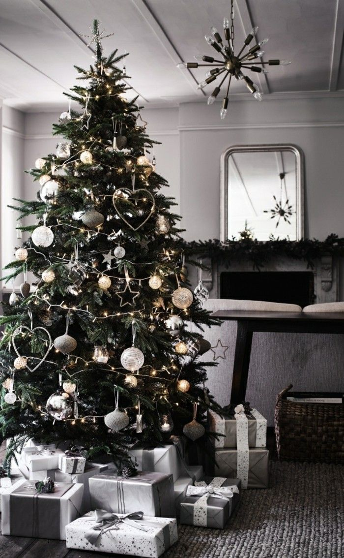 weihnachtsbaum silber wei kaagenbraassemvoetbal. Black Bedroom Furniture Sets. Home Design Ideas