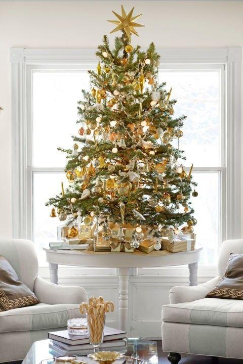 goldene-dekoration-fur-das-wohnzimmer