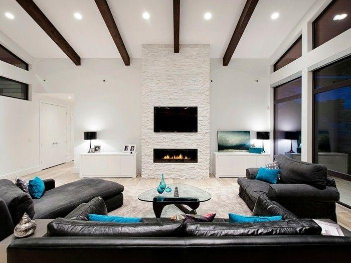 modernes-wohnzimmer-trendy-schwarz-weis