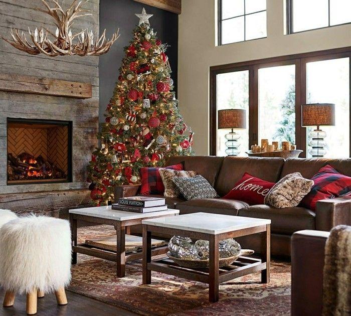 weihnachten dekoration welche stile in der dekoration zu weihnachten k nnen sie unterscheiden. Black Bedroom Furniture Sets. Home Design Ideas