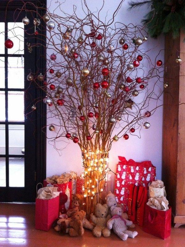 weihnachtsdeko-flur-ecke-weihnachtsbaum