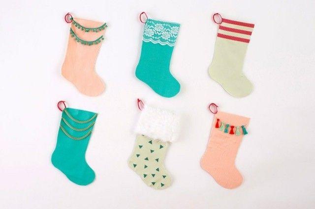 weihnachtsdekoration-kleine-strumpfe
