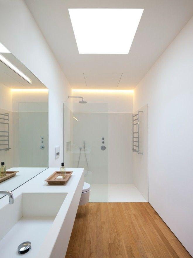 Badezimmer ideen modernes design und funktionalit t in for Bad deckenbeleuchtung