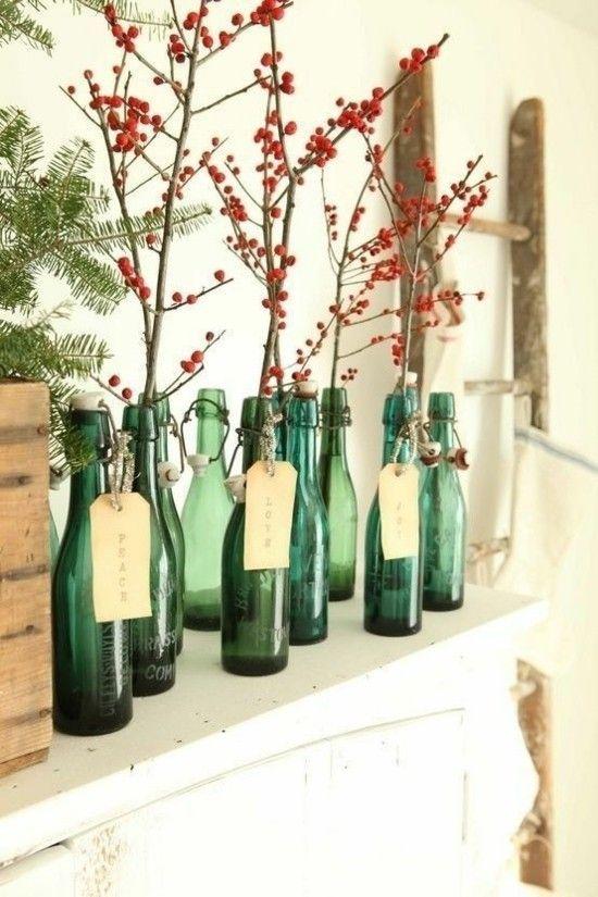 alte-glasflaschen-neue-funktion-vasen-zweige