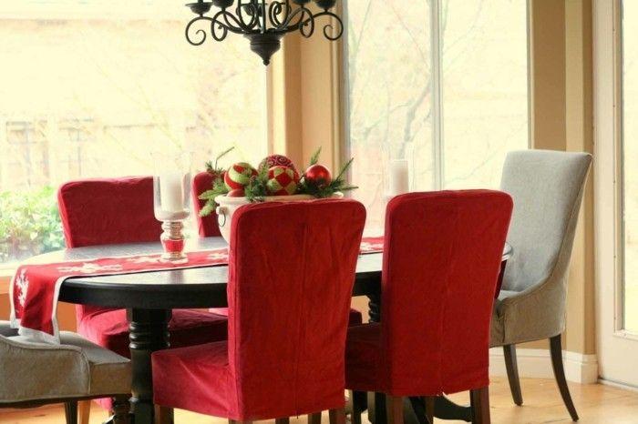 esszimmer-einrichten-rote-akzente-wohnideen-moderne-esszimmer