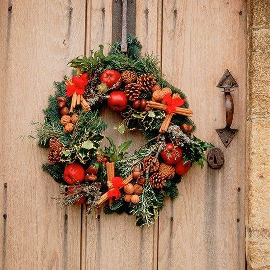 schone-weihnachtsdeko-ideen-weihnachtskranz
