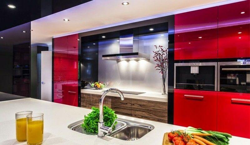 1-modern küche design idee interieur