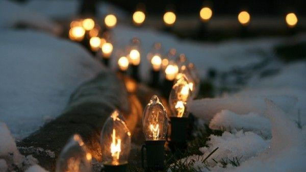 Beleuchtung im Garten