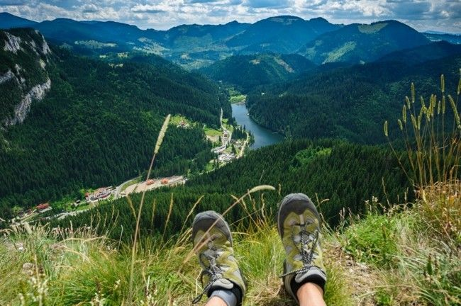 Berge Urlaub den Kontakt genießen freie Natur bewundern