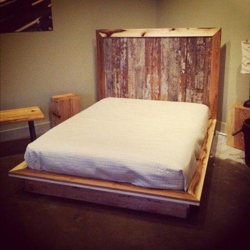 bett aus paletten eine praktische diy idee f r umweltbewusste leute. Black Bedroom Furniture Sets. Home Design Ideas