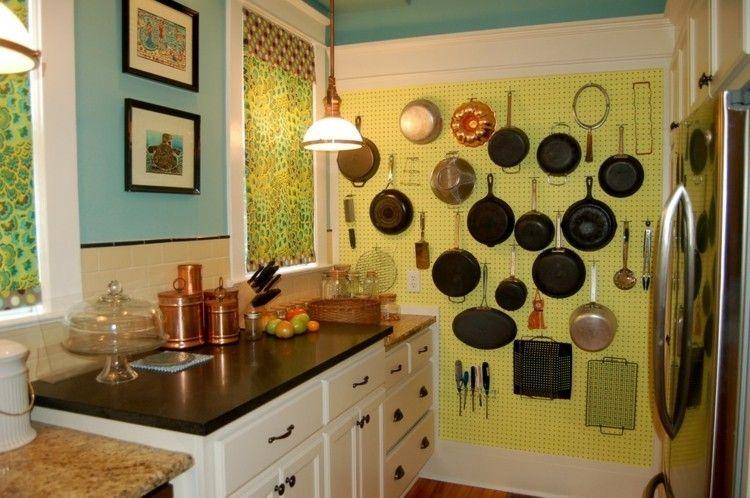 Dekoidee Küche Wanddeko