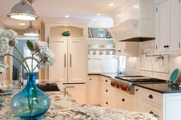 Farbtöne moderne Küche