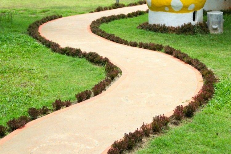 Gartengestaltung Beton