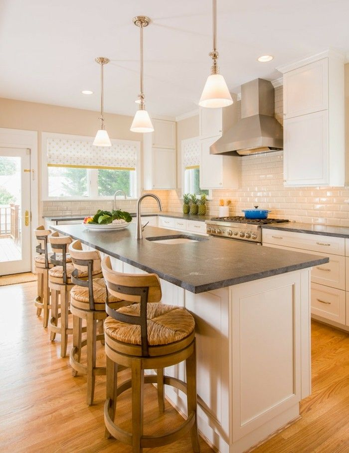 Granit Küchenarbeitsplatte Kücheninsel ideen