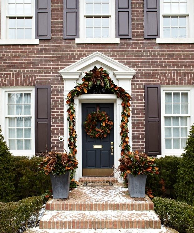 Die girlande zu weihnachten so kann sie gebastelt und aufgeh ngt werden - Dekoration haustur ...