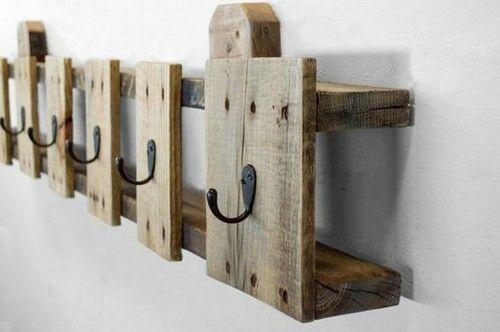 Ideen Kleiderständer selber bauen Holz Paletten Möbel
