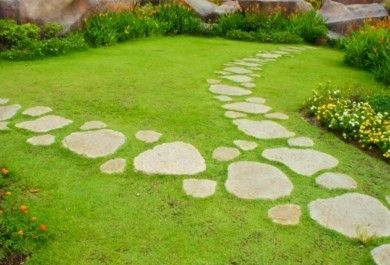 Gartenwege gestalten tricks der gartengestaltung - Gartenwege gunstig gestalten ...