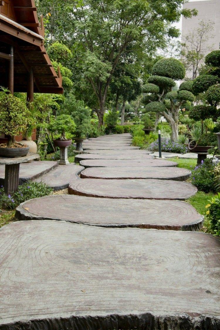 Japanischer Garten Gartenweg