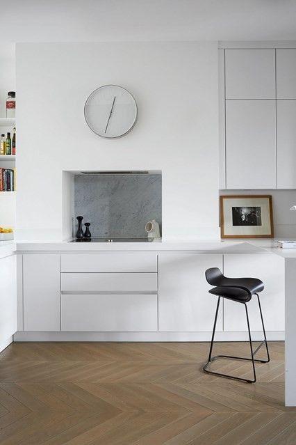 Kueche Im Minimalistischen Stil : Ein Küchentraum In Weiß Trendomat.com