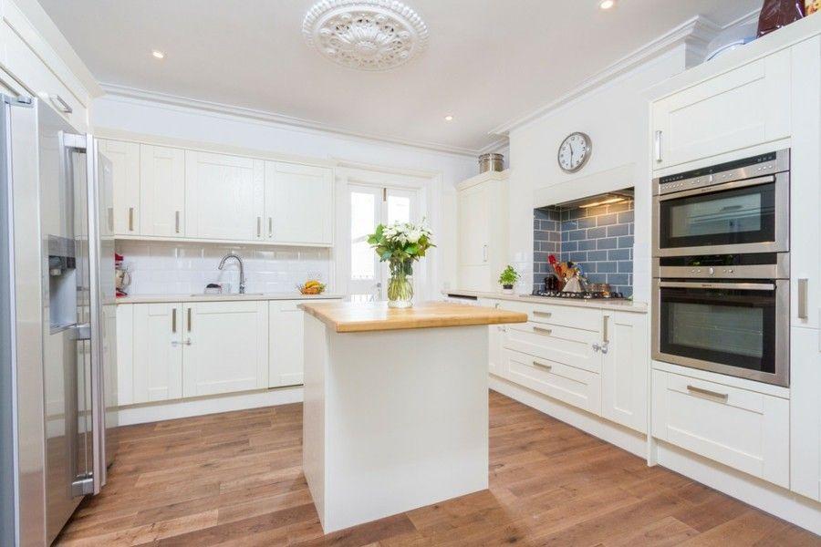 Küche Mit Kochinsel Weiß