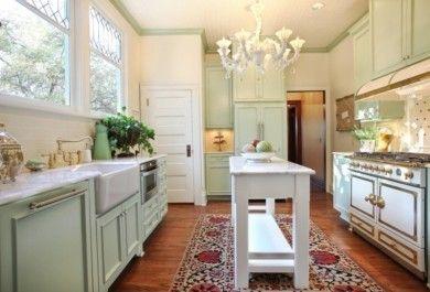Kücheninseln  Die Kücheninsel wird dünner! Bilderbeispiele für schmale ...