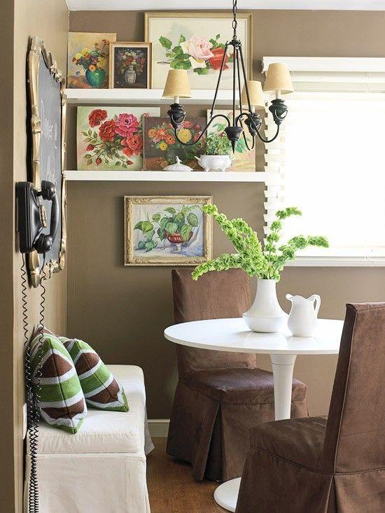 Küchenstühle in Kakao