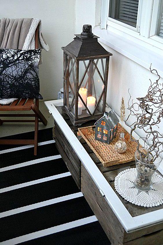 Kleinen balkon-verschönern-balkon-deko-ideen
