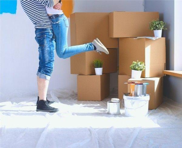 Krebse die Wohnung renovieren lassen im Dezember ein neues Zuhause zu Weihnachten