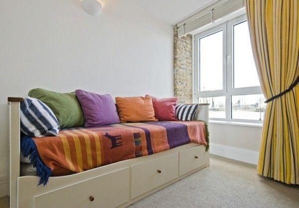 Möbel und Ideen zur Einrichtung für das Jugendzimmer-schlafsofa