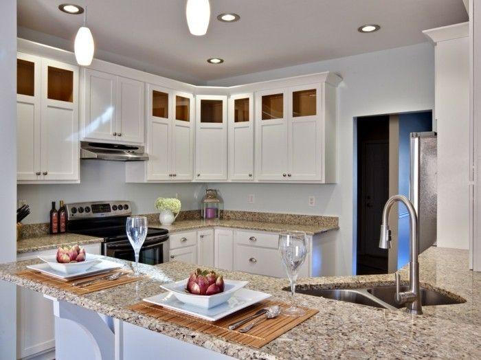 Moderne Küche Arbeitsplatten aus Granit